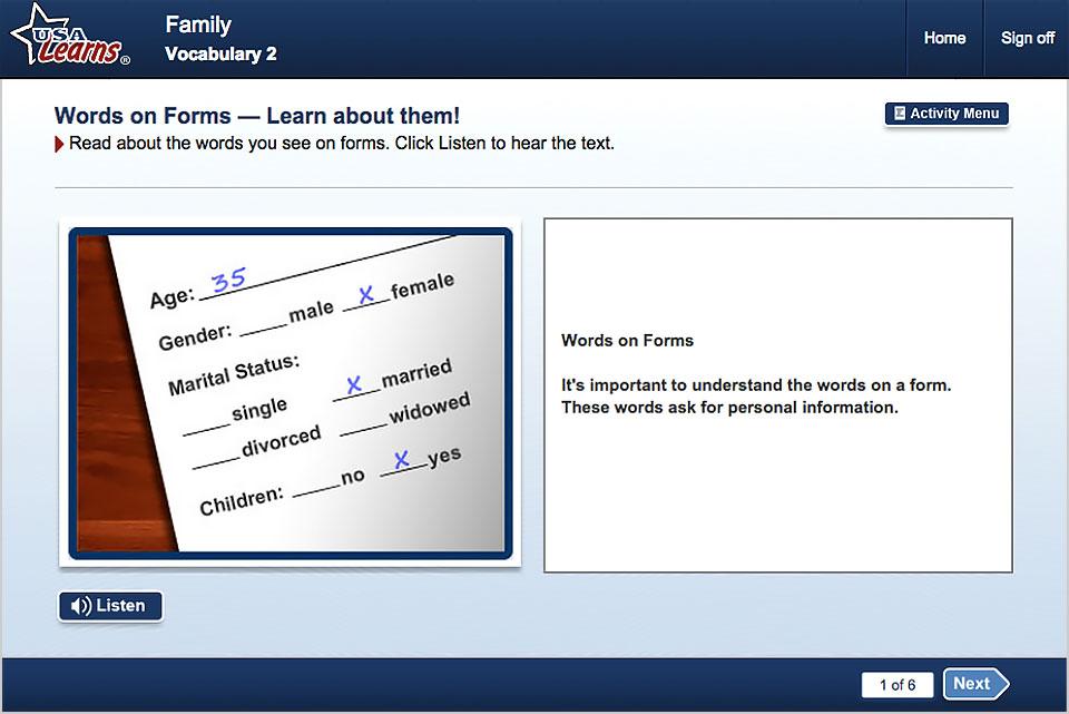 English Language Life Skills